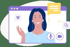illu-action-online-consultation-doctor-woman